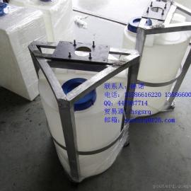 供应各种型号规格耐强酸碱耐腐蚀塑料PE搅拌桶容器