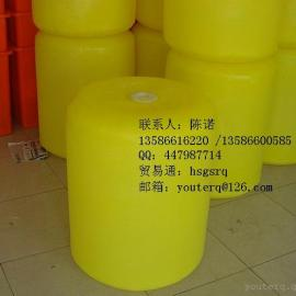 直径60公分高度76公分的PE浮筒