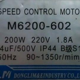 M6200-502 M6200-602 6GU50KB调速马达TLM马达