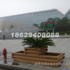 陕西榆林塑木花箱厂家