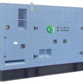 静音箱型沼气发电机组 30KW―600KW