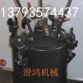 不锈钢压力桶/2L 10L 20L 40L气动搅拌压力桶/喷嚏设备/多彩喷枪