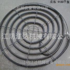 增氧曝气盘,曝气平盘φ80铁质盘