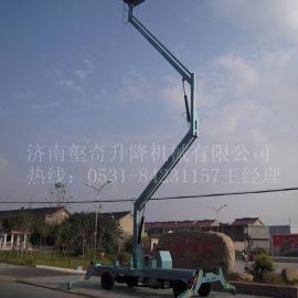 哈尔滨曲臂式升降平台高空作业车