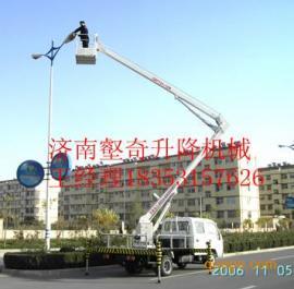 哈尔滨壑奇折臂式升降平台 哈尔滨高空作业车