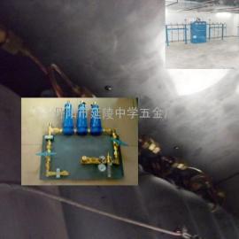 避难硐室压风气幕喷淋系统