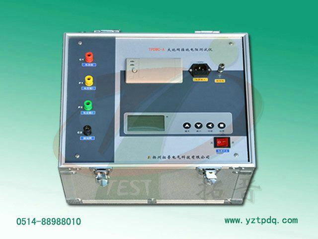 自动抗干扰地网接地电阻测量仪
