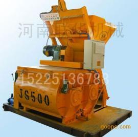 新产 :强制式混凝土搅拌机产品-JS500型双卧轴