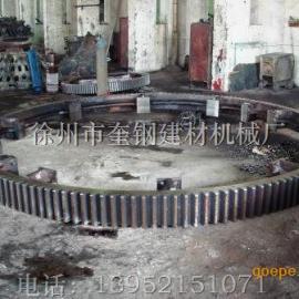 褐铁矿 赤铁矿滚筒干燥机 烘干机 齿轮