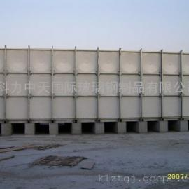 科力中天国际新型组合式玻璃钢SMC消防专用水箱
