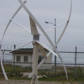 5000W垂直轴风力发电机