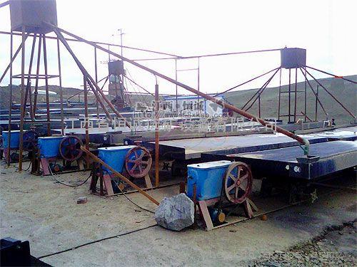 钨矿提取技术 钨矿摇床