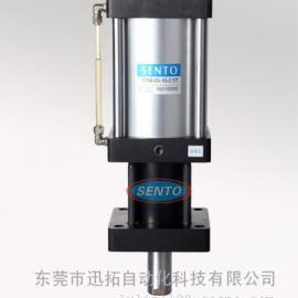 供应STM迷你型油筒内置增压缸/东莞增压缸1T/热销增压缸