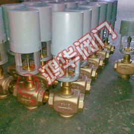 VB-3200铜螺纹电动二通阀