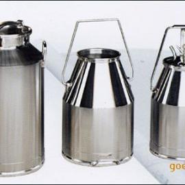 304不锈钢抛光密封牛奶桶