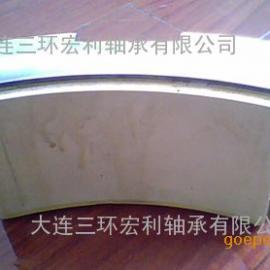 分块式环保型高性能弹性金属塑料导瓦