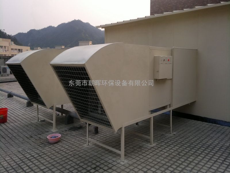 东莞油烟净化器安装项目