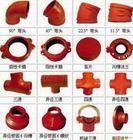 广州沟槽管件、沟槽卡箍、三通、福建天广消防器材