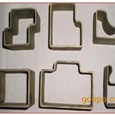 合金凹凸型钢管/锥形方管