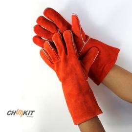 威特仕电焊手套阻燃 烧焊 焊接手套