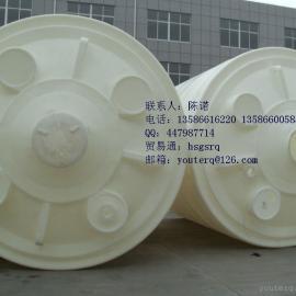 50立方PE储水罐|50吨塑料水箱|50吨PE水箱