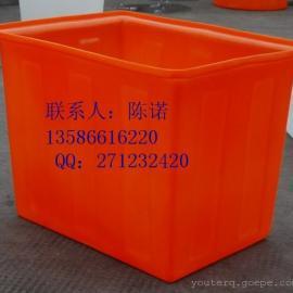 500升PE方桶|方形养鱼桶|PE方形塑料桶
