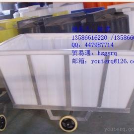 PE方桶 方形PE推车桶 纺织布料方桶生产厂家