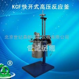 KCF快开式高压反应釜