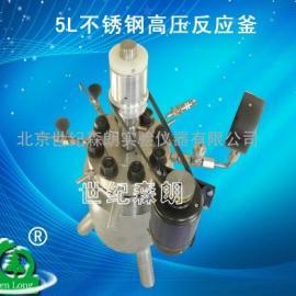 5L不锈钢高压反应釜