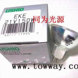 日本USHIO JCR 21V150W USHIO特种杯泡