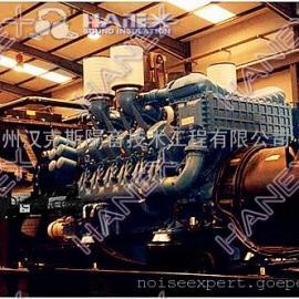 柴油发电机噪声治理