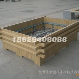 陕西花箱厂家|榆林塑木花箱