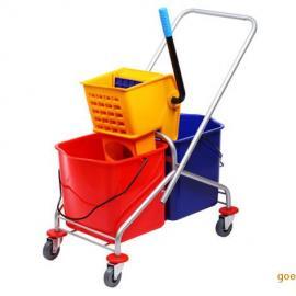 兰州榨水车拖把挤水车|兰州嘉仕清洁用品器材公司专售