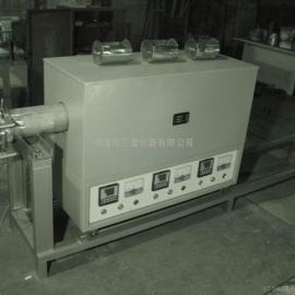 ZK系列不锈钢内胆可移开快速升降温真空电阻炉