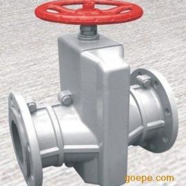 GJ41X-10L铝合金管夹阀 胶管阀