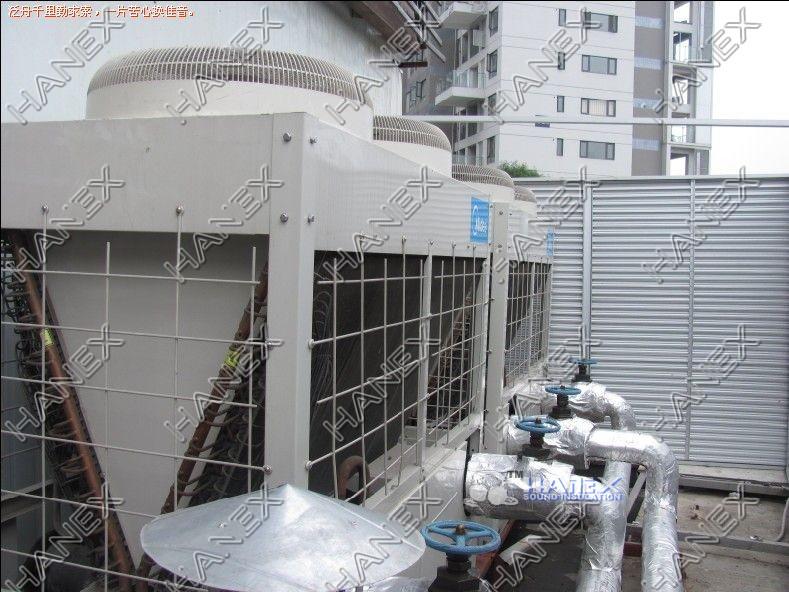 风冷螺杆式冷水机组噪声治理