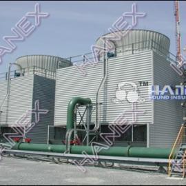 楼顶中央空调冷却塔噪音治理,中央空调外机噪声治理