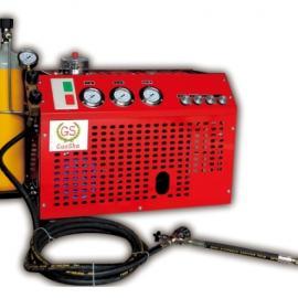 CNG加气站管道检测用高压空压机