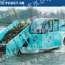 电自动割草船