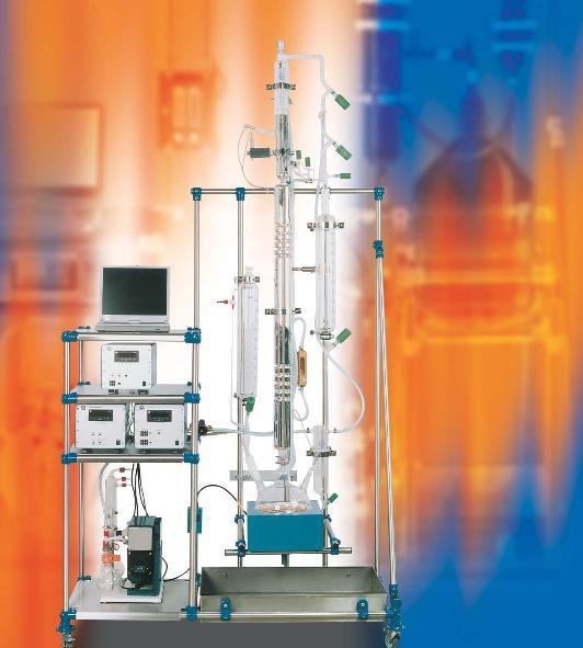 蒸馏装置_定制实验室连续玻璃蒸馏装置