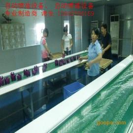 深圳惠州自动喷油线设备,塑胶喷漆设备