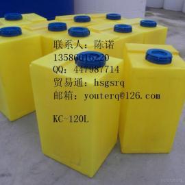 80L方形PE加药桶|方形塑料桶
