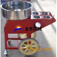 棉花糖机小推车哪里有卖 新款果味拉丝棉花糖机推车价格