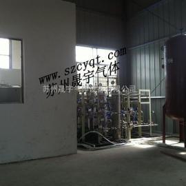 混配装置、氮氢混配装置、配气装置
