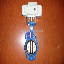 电动蝶阀 DN100 D971X智能型电动蝶阀 价格
