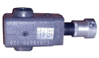 y-10管式溢流阀*压力6.3,流量10~63图片