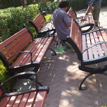 木塑座椅图片-厂家价格