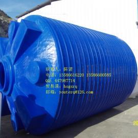蓝色PE水箱,蓝色大型塑料水塔