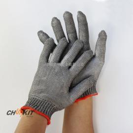 国产不锈钢钢丝手套 超强耐切割 防刀刃屠宰场专用手套
