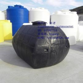 3000L卧式聚乙烯水箱,3吨卧式聚乙烯储罐